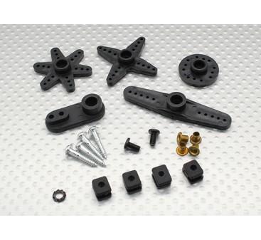 Turnigy™ 1268HV Titanium BB/DS/MG Servo 16kg / 0.12sec / 57g