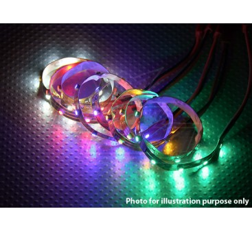 LED Strip with JST Connector 200mm (Blue)