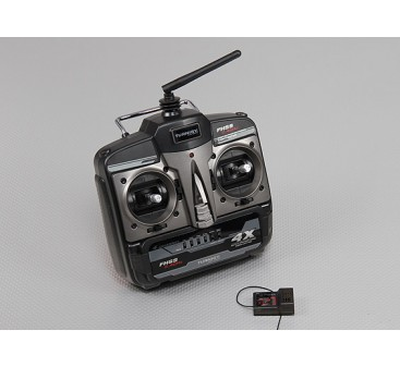Turnigy 4X FHSS 2.4ghz Transmitter and Receiver (Mode 2)