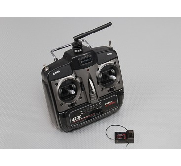 Turnigy 6X FHSS 2.4ghz Transmitter and Receiver (Mode 2)