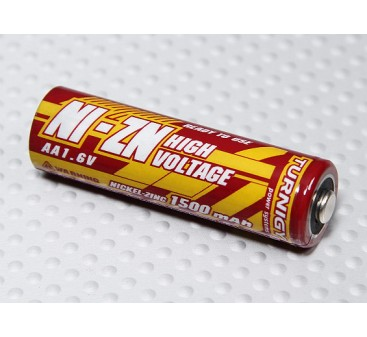Turnigy Rechargeable Battery AA 1500mAh NiZN 1.6V