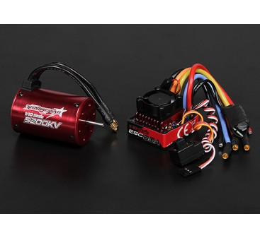 Turnigy TrackStar Waterproof 1/10 Brushless Power System 5200KV/80A