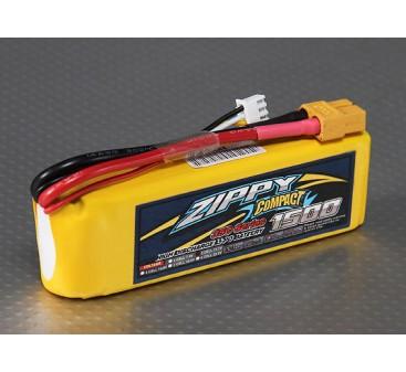 ZIPPY Compact 1500mAh 3S 35C Lipo Pack