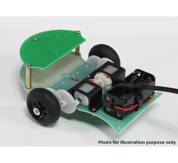 Simple Expandable Robot Chassis (KIT)