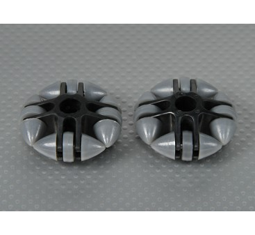 49x20mm Plastic Omni Wheel (2Pcs/Bag)