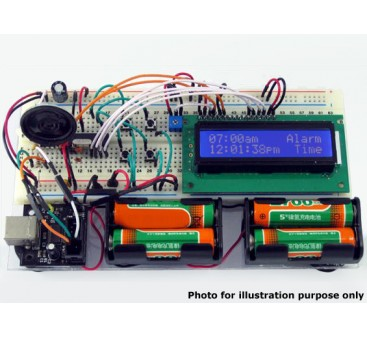 Educational LCD Display Electronics Training Kit