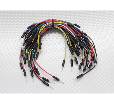 Kingduino Bread Board Jumper Set with 7-color/Length Wires with Pin Ends