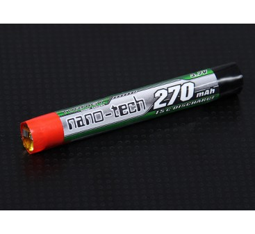 Turnigy nano-tech 270mah 1S 15C Round Cell