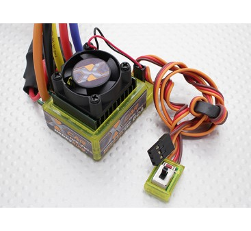 HobbyKing® ™ X-Car 60A Brushless Car ESC (sensored/sensorless)