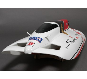 Sprint F3 Fiberglass Tunnel Hull Brushless Racing Boat w/Motor (630mm)