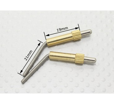 Brass Canopy Locks L40mm - 2pcs