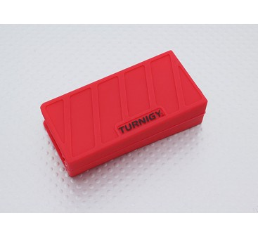 Turnigy Soft Silicone Lipo Battery Protector (1000-1300mAh 3S Red) 74x36x21mm