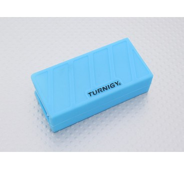Turnigy Soft Silicone Lipo Battery Protector (1000-1300mAh 3S Blue) 74x36x21mm