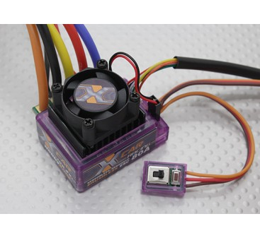HobbyKing X-CAR 80A Brushless ESC (sensored/sensorless)