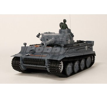 German Tiger I RC Tank RTR w/Airsoft/Smoke & Tx (UK Plug)