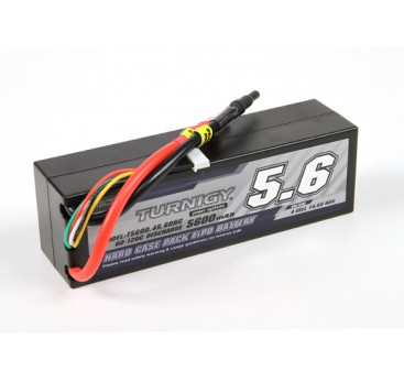 Turnigy 5600mAh 4S 14.8V 60C Hardcase Pack