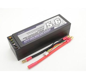 Turnigy 5600mAh 4S 14.8V 60C Hardcase Pack (Removable Leads)