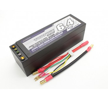 Turnigy 6400mAh 4S 14.8V 60C Hardcase Pack (Removable Leads)