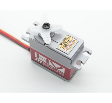 JR DS6315HV High Torque High Speed Digital Servo with Metal Gears and Heatsink 17.8kg / 0.07sec /80g