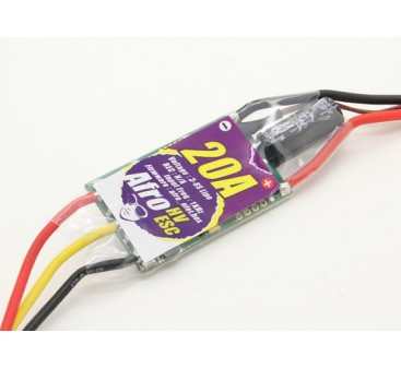 Afro HV 20A MultiRotor ESC High Voltage 3~8s
