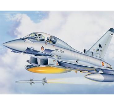 Italeri 1/72 Scale EF-2000 Eurofighter Plastic Model Kit