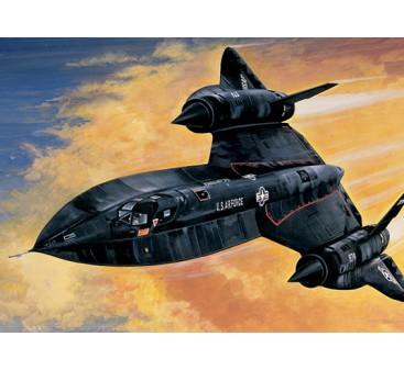 Italeri 1/72 Scale Lockheed SR-71 Blackbird Plastic Model Kit