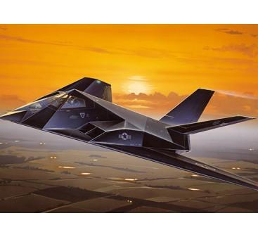 Italeri 1/72 Scale Lockheed F-117A Nighthawk Plastic Model Kit