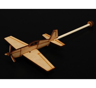 Extra 300 Practice Stick Plane Laser Cut Wood Model (Kit)