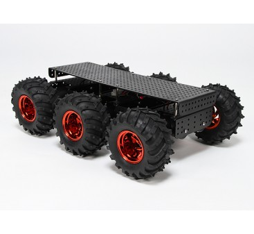 Wild Thumper 6WD Multi Chassis with Monster Truck Type Wheels/Tires
