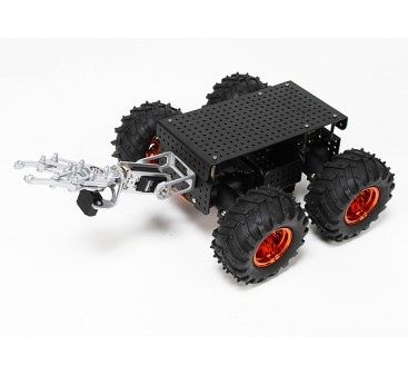 Wild Thumper 4WD Multi Chassis with Gripper and Monster Truck Type Wheels/Tires