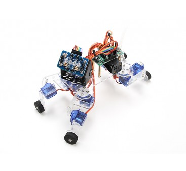 Playful Puppy Robotic Kit with ATmega8 Control Board and IR Sensor