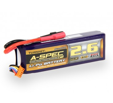 Turnigy nano-tech A-SPEC G2 2600mah 4S 65~130C Lipo Pack