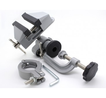 Heavy Duty Universal Table Vice with Drill Clamp