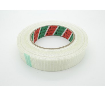 High Strength Chequered Fibre Tape. 24.5mm x 50m