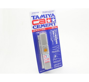 Tamiya CA Cement Quick Type (Net 2g)