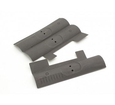 Dytac M4 / M16 Dummy Bolt Cover Black (3pcs/bag)