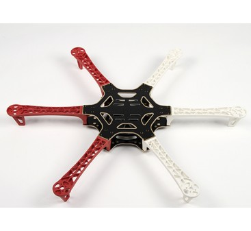 H550 V3 Glass Fiber Hexcopter Frame 550mm - Integrated PCB Version