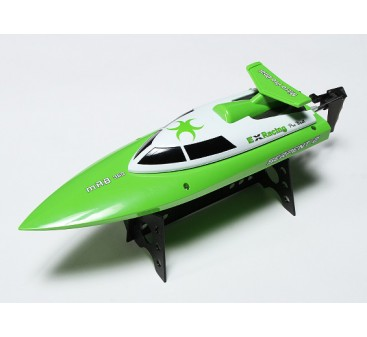 Serpent 2 Mini V-Hull Racing Boat 360mm - Green (RTR)