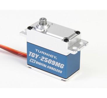 Turnigy™ TGY-DS2509MG High Torque Coreles HV/DS/MG Servo w/Alloy Case 28kg / 0.10sec / 78g