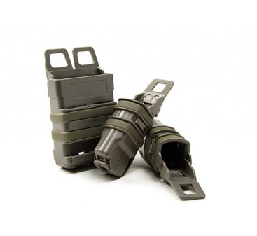 FMA FastMag magazine holster for M4 & Pistol mag set (Foliage Green)