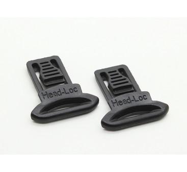 FMA Goggle Swivel Clips 19mm (Black, 2pcs / pack)