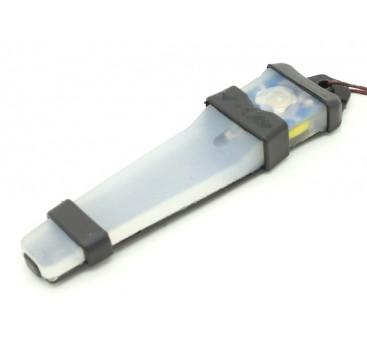 FMA Velcro Safety Light with Black tray (BLUE)