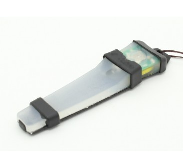 FMA Velcro Safety Light with Black tray (Green)
