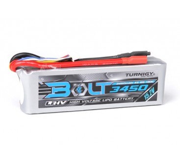 Turnigy Bolt 3450mAh 4S 15.2V 65~130C High Voltage Lipoly Pack (LiHV)