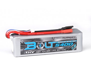 Turnigy Bolt 5400mAh 3S 11.4V 65~130C High Voltage Lipoly Pack (LiHV)