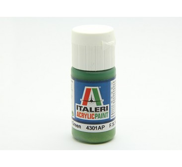 Italeri Acrylic Paint - Flat Interior Grey Green (4301AP)
