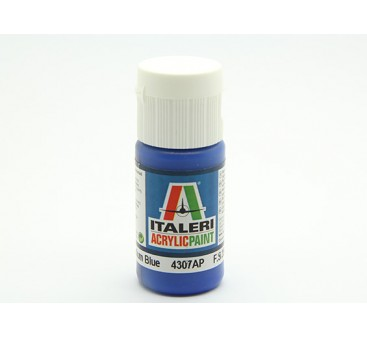Italeri Acrylic Paint - Flat Medium Blue (4307AP)