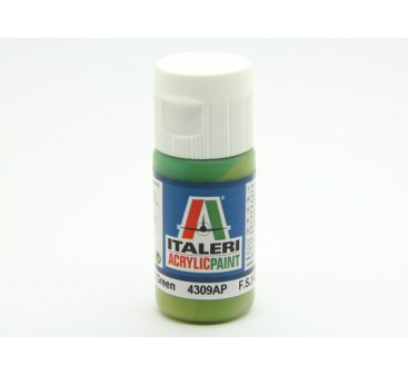 Italeri Acrylic Paint - Flat Light Green (4309AP)