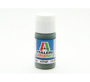Italeri Acrylic Paint - Flat Dark Slate Grey (4311AP)