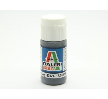 Italeri Acrylic Paint - Flat Extra Dark Sea Grey (4312AP)